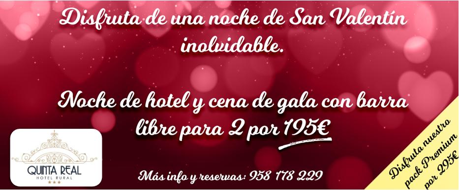 San Valentín Quinta Real