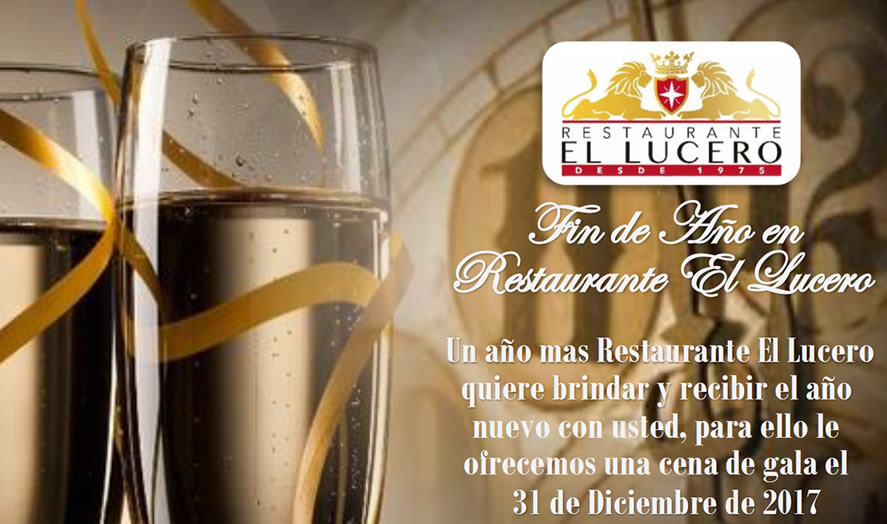 Nochevieja 2017 Restaurante Lucero